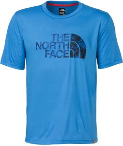 The North Face Cobalt Flashdry Crew Shirt Clear Lake Blue