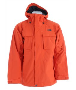 The North Face Decagon Ski Jacket Flare Orange