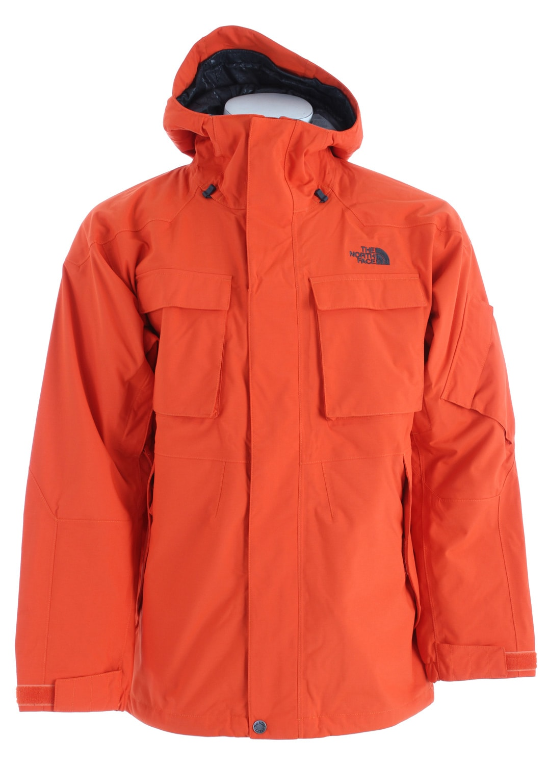 Shop for The North Face Decagon Ski Jacket Flare Orange - Men's