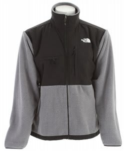The North Face Denali Jacket Charcoal Grey Heather/TNF Black