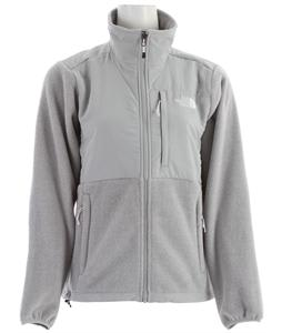 The North Face Denali Jacket R TNF White Heather/High Rise Grey