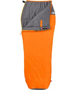 The North Face Dolomite 40/4 Sleeping Bag Russet Orange/Zinc Grey Reg RH