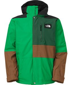 The North Face Dubs Insulated Ski Jacket Spectral Green