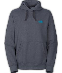 The North Face EMB Logo Pullover Hoodie Charcoal Grey Heather/Meridian Blue