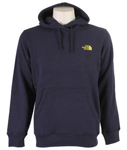 The North Face EMB Logo Pullover Hoodie Cosmic Blue/Acid Yellow