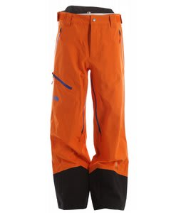 The North Face Enzo Shell Ski Pants Oriole Orange