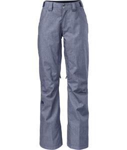 The North Face Farrows Ski Pants Cosmic Blue Denim
