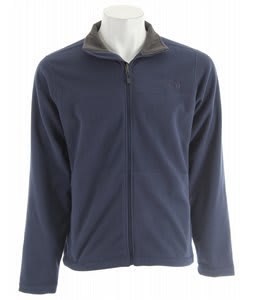 The North Face Fly Fleece Jacket Deep Water Blue