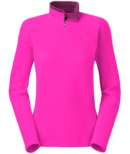 The North Face Glacier 1/4 Zip Fleece Azalea Pink