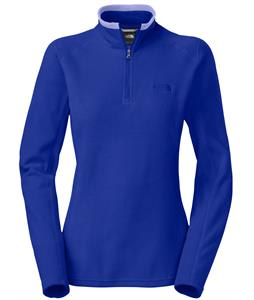 The North Face Glacier 1/4 Zip Fleece Marker Blue