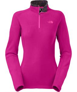 The North Face Glacier 1/4 Zip Fleece Fuschia Pink