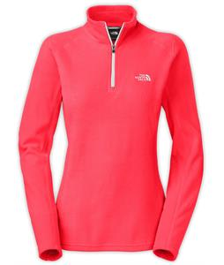 The North Face Glacier 1/4 Zip Fleece Rambutan Pink