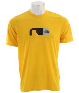 The North Face Graphic Reaxion Crew T-Shirt Canary Yellow