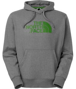 The North Face Half Dome Hoodie Heather Grey/Amazon Green