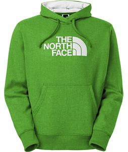 The North Face Half Dome Hoodie Flashlight Green Heather/TNF White