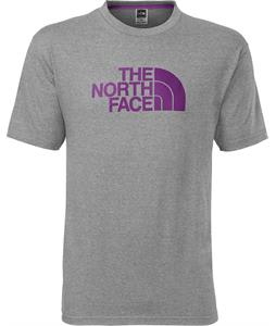 The North Face Half Dome T-Shirt Heather Grey/Iris Purple