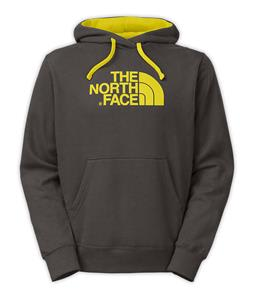 The North Face Half Dome Hoodie Graphite Grey/Acid Yellow