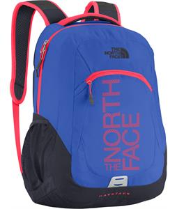 The North Face Haystack Backpack Dazzling Blue/Rocket Red Graphic 31.5L