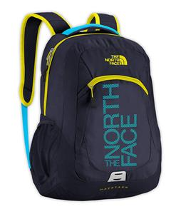 The North Face Haystack Backpack Cosmic Blue/Sulphur Spring Green Graphic 31.5L