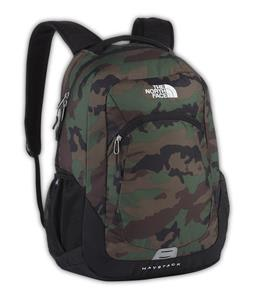 The North Face Haystack Backpack Military Green Woodland Print/TNF Black 31.5L