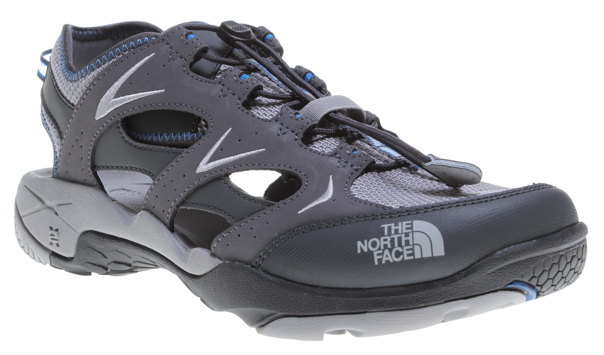 e4824e524 The North Face Hedgefrog II Water Shoes Zinc Grey/Athens Blue on ...