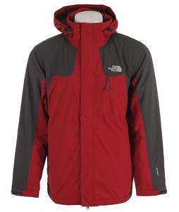 The North Face Inlux Insulated Jacket Biking Red/Asphalt Grey