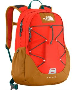 The North Face Jester Backpack Acrylic Orange/Timber Tan 27L