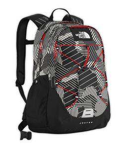 The North Face Jester Backpack TNF Black Razzle Dazzle Print 27L