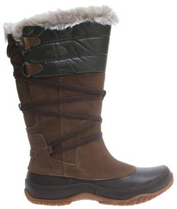 The North Face Jozie Purna Boots Sepia Brown/Shiny Fig Green