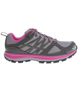 The North Face Litewave Hiking Shoes Dark Gull Grey/Linaria Pink