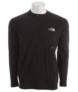 The North Face Litho L/S 1/4 Zip Baselayer Top TNF Black