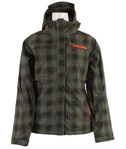 The North Face Lynndale Insulated Jacket New Taupe Green Plaid