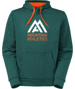 The North Face MA Graphic Surgent Hoodie Deep Teal Green Heather/Persian Orange