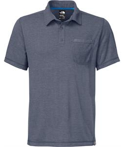 The North Face Meadowlake Flashdry Polo Cosmic Blue Heather