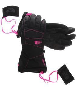 The North Face Montana Gloves TNF Black/Azalea Pink