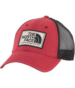 The North Face Mudder Trucker Cap Rosewood Red