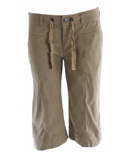 The North Face Noble Stretch Capri Pants Moab Khaki
