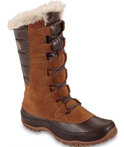 The North Face Nuptse Purna Boots Dachshund Brown/Shiny Demitasse Brown