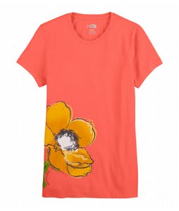 The North Face Painted Flower T-Shirt Phoenix Pink