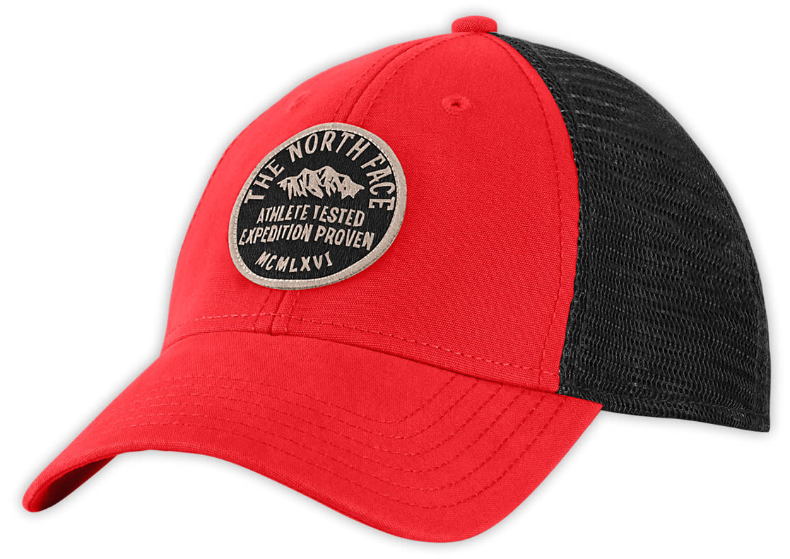 On Sale The North Face Patches Trucker Hat up to 45% off