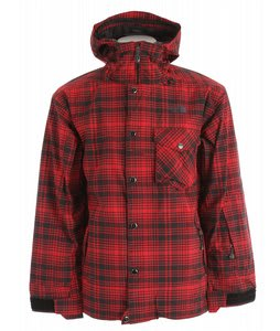 The North Face Pemby Ski Jacket Chili Pepper Red