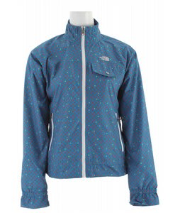 The North Face Penelope Jacket Baja Blue Polka Dot