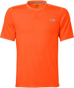The North Face Reactor Crew Shirt Power Orange/Persian Orange