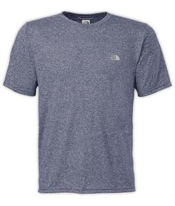 The North Face Reaxion Amp Crew Shirt Cosmic Blue Heather