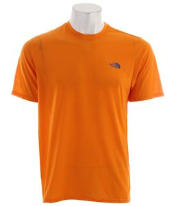 The North Face Reaxion Crew T-Shirt Safety Orange