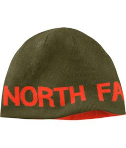 The North Face Reversible TNF Banner Beanie Forest Night Green/Valencia Orange