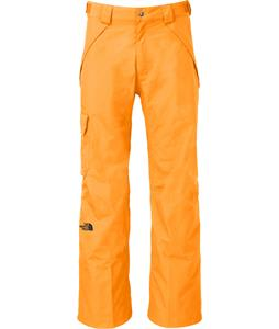 The North Face Seymore Ski Pants Brushfire Orange