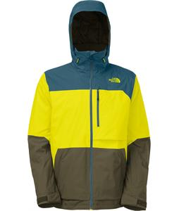 The North Face Sickline Ski Jacket Sulphur Spring Green
