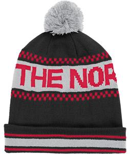 The North Face Ski Tuke IV Beanie TNF Black/Rage Red