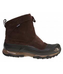 The North Face Snow Beast Pull On Boots Demitasse Brown/Dune Beige